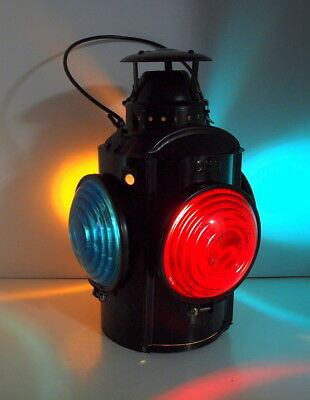 Old CNR HLP Piper Montreal Railroad Caboose Signal Lantern Lamp MAN CAVE