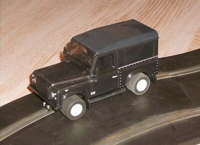 Scalextric conversion Land Rover Defender off road car SUPERB good 1:32 scale