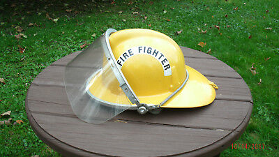 Topgard Fireman's Helmet 1969 class D with Shield and chin strap