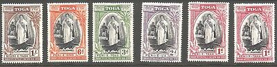 TONGA TOGA 1943 Queen Salote 25 years anniv. of ascension, Mint MH MLH