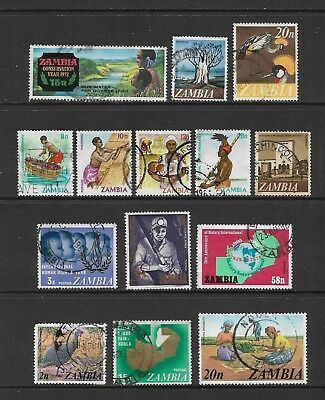 ZAMBIA - mixed collection No.3, used