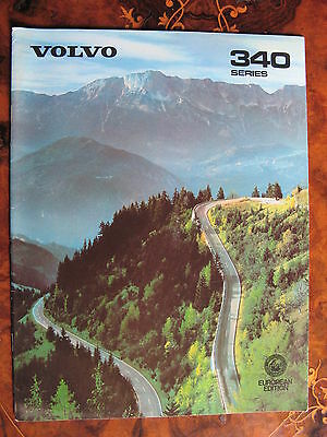 Volvo 340 Series Catalogue European Edition