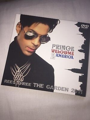 Prince - Welcome To America Reel Three Live At Madison Dvd Rare