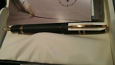 Visconti Homo Sapiens Lava Black bronze Fountain Pen Large..ef , F, M, 1.3 nibs
