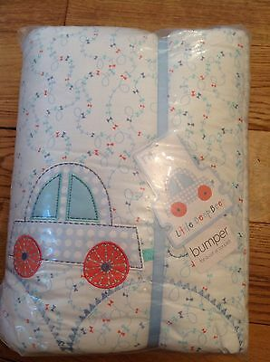 Mothercare Little Beep Beep Cot Bumper.  Also For Cot Bed...Bnip