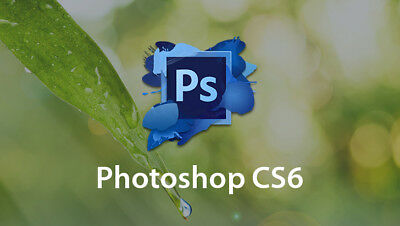 Adobe Photoshop CS6 Extended Full version Windows License / Serial *DOWNLOAD