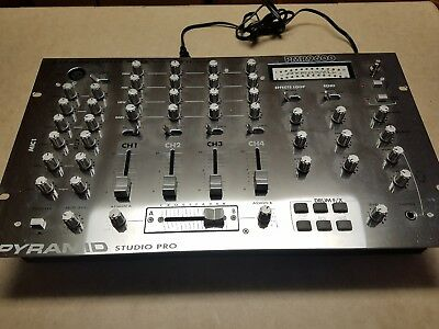 Pyramid Studio Pro PMR9600, 4 Channel stereo mixer  with Drum FX / Echo
