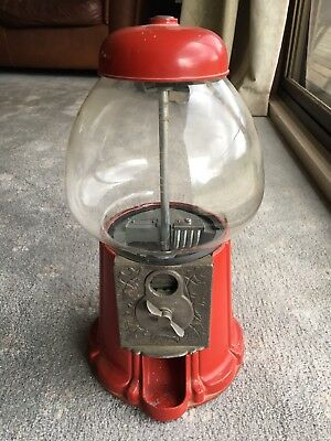 Gumball Machine Vintage Coin Operated