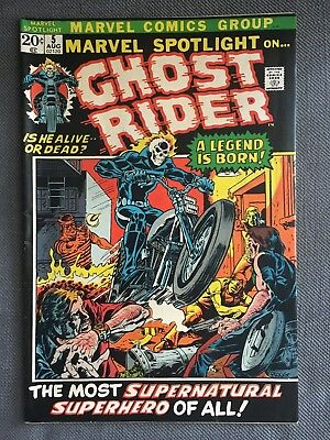 Marvel Spotlight 5 Ghost Rider First Appearance! Great condition. Rare comic.