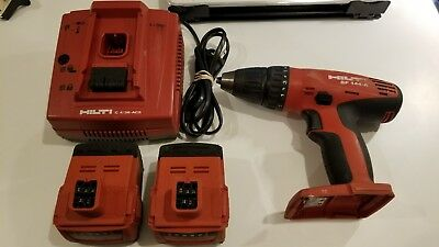 Used Hilti SF 144-A Drill/Driver 14.4V 2 Batteries+Charger Free Shipping