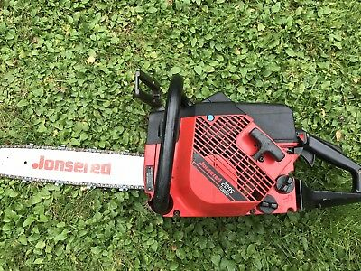 Jonsered 2095 Turbo Chainsaw 150 psi Runs Great Mill Milling saw