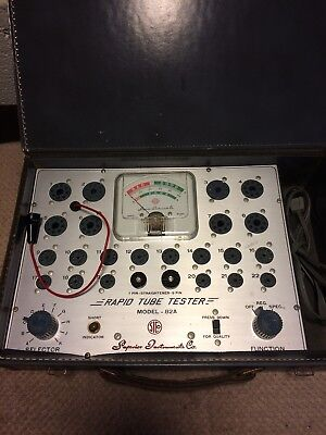 Vintage Superior Instruments Company Rapid Tube Tester Model 82A