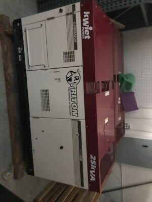 Kwiet Power Generator 25KVA Model:DGK25B