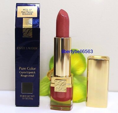 Estee Lauder Pure Color Crystal Lipstick FULL SIZE -NEW IN BOX (CHOOSE SHADE)