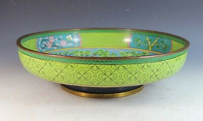 Large Antique Chinese Cloisonne Bowl