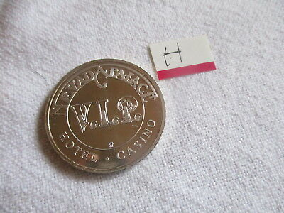 NEVADA PALACE CASINO 1st EDITION 1991 V.I.P GAMING TOKEN IN PLASTIC CASE.