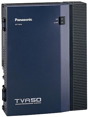 Panasonic KX-TVA50 - Voice Mail System with LAN and Phone Cords