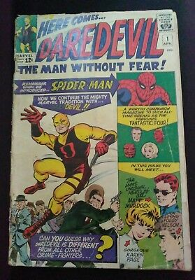 Daredevil # 1 (1964 1st Series) First Appearance Daredevil