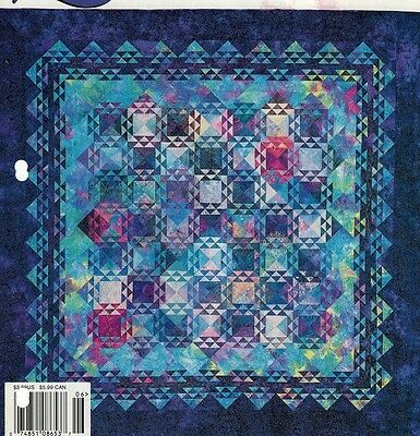 Working Out the Blues Quilt Pattern - #0137