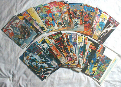 38-LOT of X-MEN COMIC BOOKS, Many are Different Title of X-Men