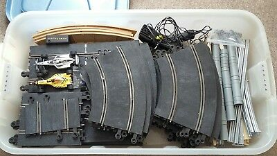 Huge Lot Of Scalextric Track And Accessories