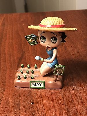 Betty Boop Figure Danbury Mint King Features Syndicate MAY Calendar Girl