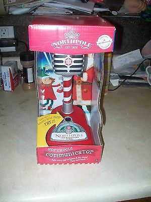"New In Box ""2014  North Pole Communicator"" Talk To Santa ( Must Buy A Card )"