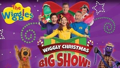 DARLING HARBOUR SYDNEY 4 x TICKETS THE WIGGLES WIGGLY CHRISTMAS BIG SHOW CONCERT