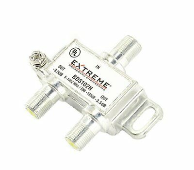 Extreme 2 Way RG6 Coax Coaxial Cable Splitter - BDS102H
