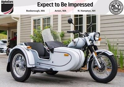 2017 Ural Retro Classic Orbital White  New Custom Color Factory Pinstripes Brembo Brakes Financing & Trades