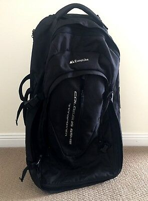 Travel Backpack with  wheels - Eurohike Colossus 65 Litres Transporter