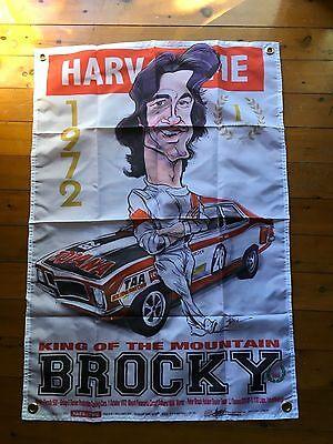 man cave flag sandman peter brock torana Monaro 3x2 ft Bathurst Holden