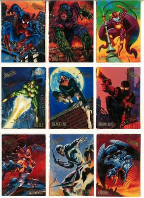 1995 Fleer Ultra Spider-Man Trading Cards (MINT CONDITION)