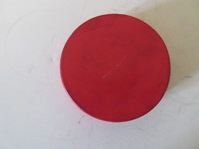"""WHA Red Game Puck """" Made In Canada """""""