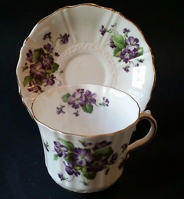 Old Royal Cup and Saucer