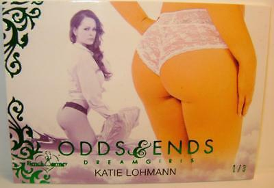 Katie Lohmann Odds & And Ends Dreamgirls #1 1/3 Bench Warmer 2017 Ultra Rare