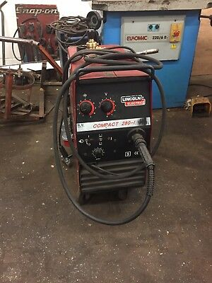 3 phase mig welder Lincoln compact 280-1