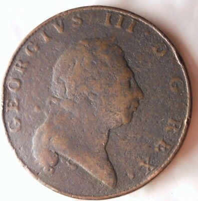 1793 BERMUDA PENNY - Extremely Rare High Value Coin - SCARCE - Lot #115