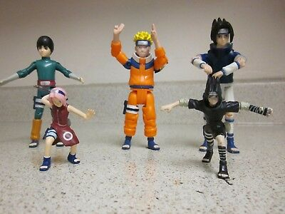 Lot of 5 - Naruto Action figure Characters