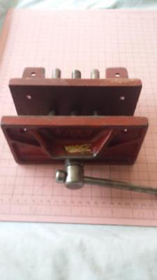 "Vintage Silex Wood Vice 6"".workshop,clamp,tools,garage,house,woodwork,timber."