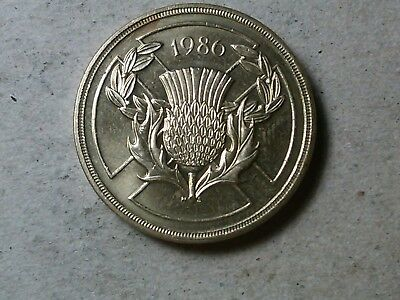 Great Britain 2 Pounds £2 Coin 1986 Commonwealth Games KM947