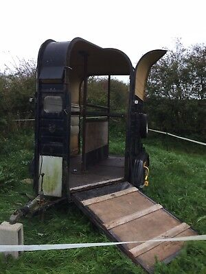 Rice Horse Trailer 2x 16.2hh or suitable for conversion: catering/gin/pizza