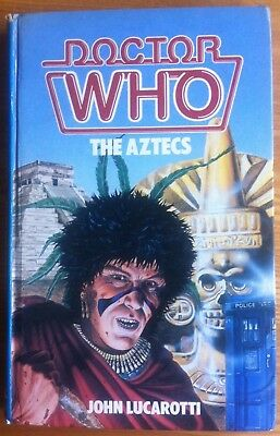 Doctor Who - The Aztecs by John Lucarotti W.H.Allen hardback book 1984