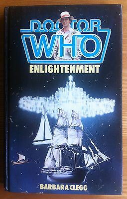 Doctor Who - Enlightenment W.H.Allen hardback book 1984 in excellent condition