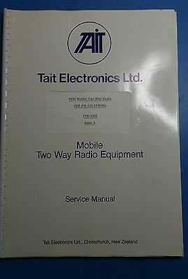 Tait T535 service manual, used