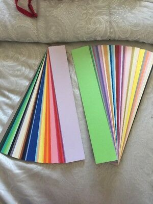 Colourful Crafting Long Slim Card