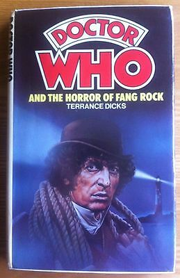 Doctor Who And The Horror Of Fang Rock W.H.Allen hardback book 1978 excellent
