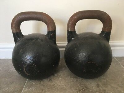2 X Wolverson Fitness Competition Kettle Bells 10kg