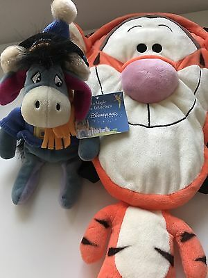 Tigger Rucksack And Eeyore Beanie From Eurodisney