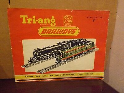 TRIANG RAILWAYS CATALOGUE ..3rd EDITION ...1957...
